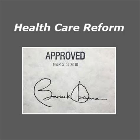 Healthcare Reform Bill Essay